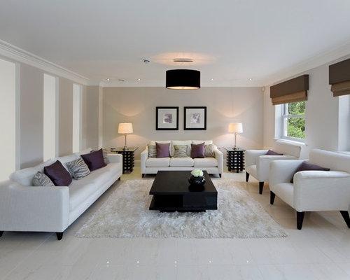 Medium sized living room design ideas renovations for Medium sized living room