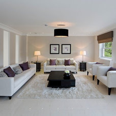 Contemporary Living Room by House Doctor