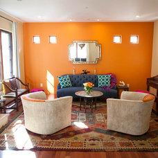 Mediterranean Living Room by Sunny K. Merry