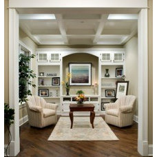Living Room by Oakley Home Builders