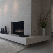 Modern Living Room by Bertram Architects
