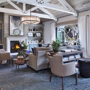 Landhausstil Wohnzimmer in Orange County