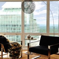 Contemporary Living Room by MaRae Simone Interiors, LLC
