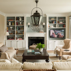 Traditional Living Room by Lauren Liess Interiors