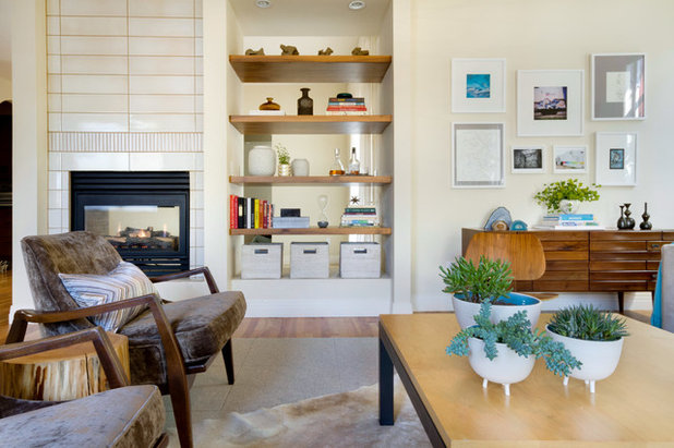 Contemporary Living Room by Ashleigh Weatherill Interior Design