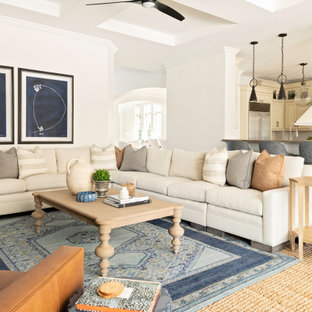 75 Beautiful Coastal Living Room Pictures Ideas December 2020 Houzz