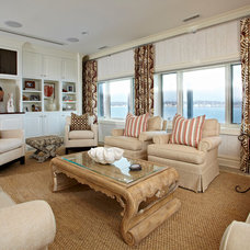 Traditional Family Room by Donna Benedetto Designs LLC.