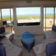Modern Living Room by O'Shea Builders LLC.