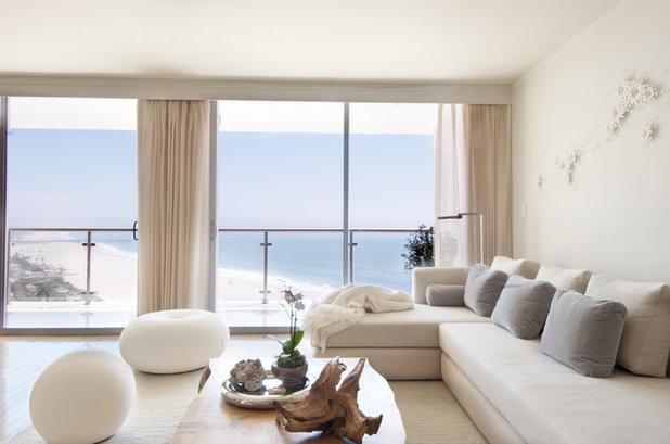 Contemporary Living Room by Sarah Barnard Design