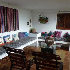 Tropical Living Room by Liferoad:Panama