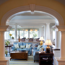 traditional living room by Windover Construction