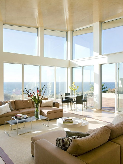 Best Modern High Ceiling Living Room Design Ideas Remodel Pictures Houzz