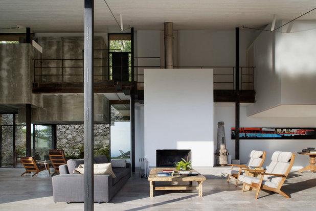 Casa de campo Salón by ÁBATON