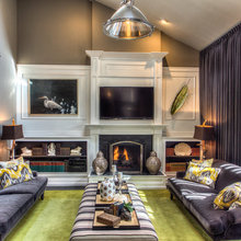 Room of the Day: Ohio Family Room Gets a Bold Costume Change