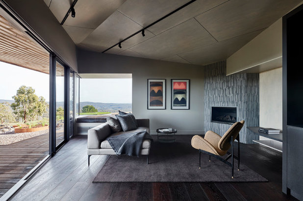 Contemporary Living Room by Robert Nichol and sons