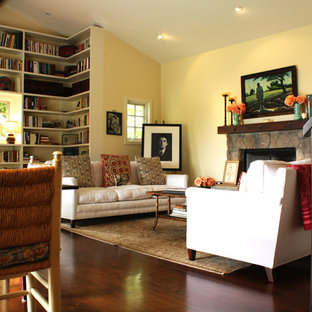 Design ideas for a country living room in Santa Barbara.