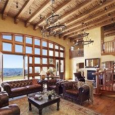 Mediterranean Living Room by Down Home Furnishings