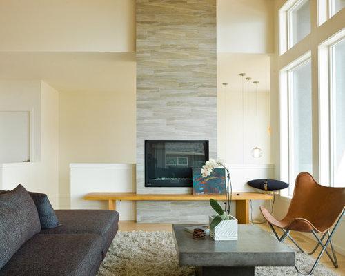 Fireplace Backsplash Home Design Ideas Pictures Remodel