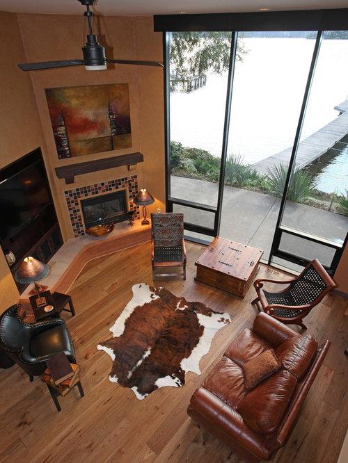 Southwestern vancouver living room design ideas remodels for Southwestern living room designs