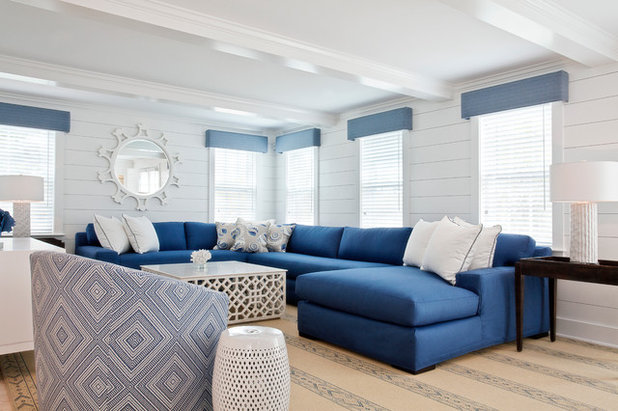 Beach Style Living Room by Christopher's Home Furnishings of Nantucket, Inc.