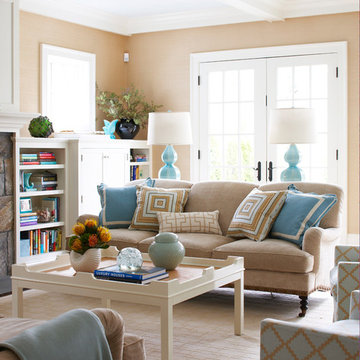 Old Greenwich Beach Family Room