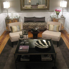 Eclectic Living Room by JAX Decor & Design