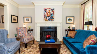 Old Town Alexandria Townhome with Classic Interiors