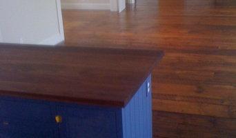 Old Wood Floor - Harpswell