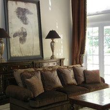 Mediterranean Living Room by Robin's Nest Interiors