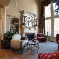 Traditional Living Room by Legendary Luxury Homes