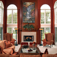 Traditional Living Room by Interiors by Mary Susan