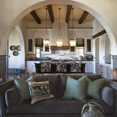 Mediterranean Living Room by The Berry Group