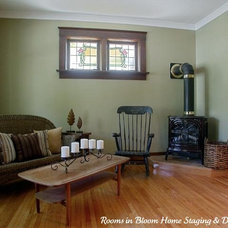 Traditional Living Room by Rooms in Bloom Home Staging & Design Inc.