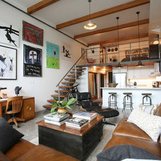 Industrial Living Room by Antique Market
