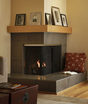 saveemail - Corner Gas Fireplace Design Ideas