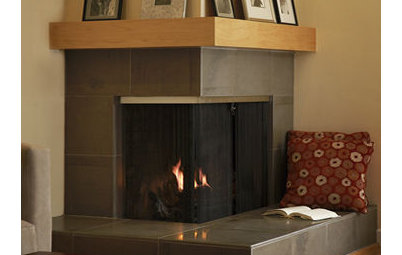 How to Make The Space Around a Fireplace Cozy