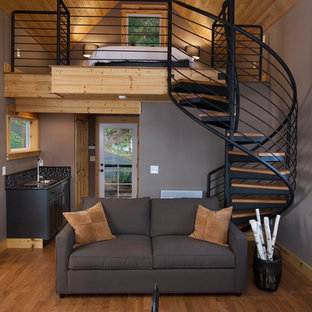 Olympia Eld Inlet Cabin Remodel and Studio Addition