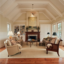Fireplaces with vaulted ceilings