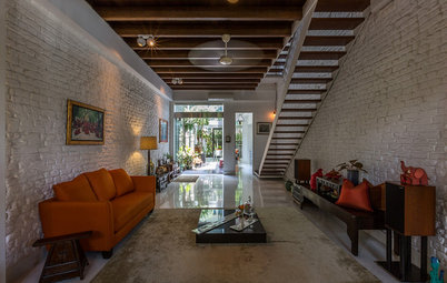 Houzz Tour: Old Meets New in a Restored Singapore Shophouse