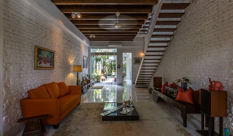Houzz Tour: Old Meets New in a Restored Pre-War Shophouse