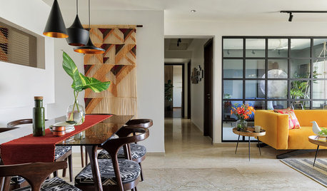 Houzz Tour: Light, Glass and Whimsy in India