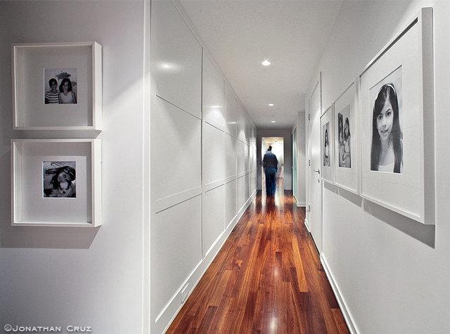 Modern Living Room by Gaile Guevara