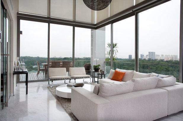 Contemporary Living Room by Designed Design Associates (DDA)