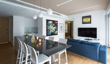 Room Tour: A Chic Open-Plan Living-Dining-Kitchen-Bar