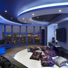 Contemporary Living Room by One-World Design