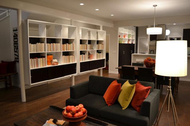 Modern Living Room by D3 Design/Build