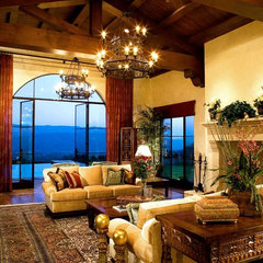 mediterranean living room by Maraya Interior Design