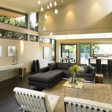 Modern Living Room by My House Design Build Team