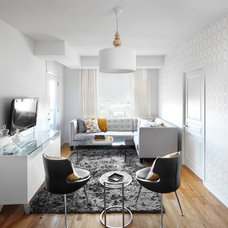 Contemporary Living Room by LUX Interior Design
