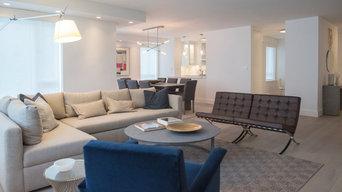 Open Living Area - Contemporary Renovation - Madison & 62nd St, NY, NY